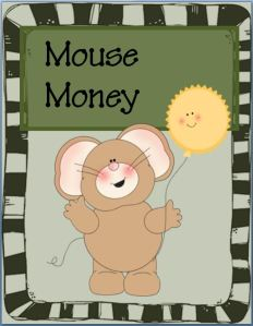 """FREE Mouse Money~ This cute, ready-to-use play """"money"""" is perfect for economics lessons, games, or incentive programs. Print, chop, and go!"""